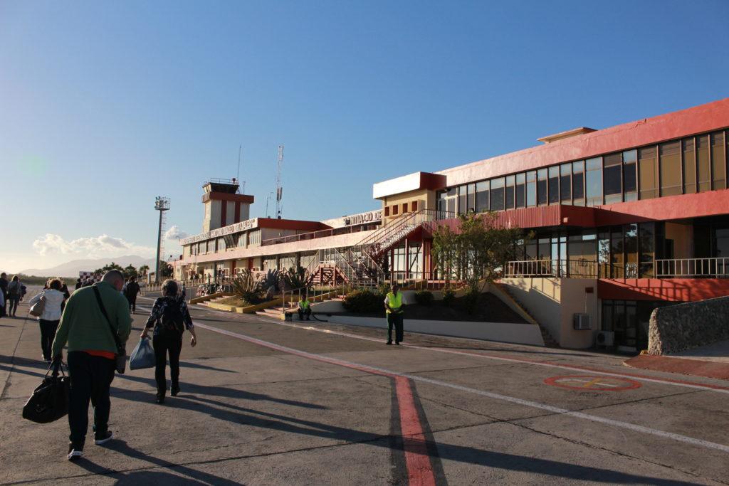 サンチャゴ空港での奇跡